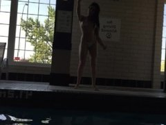 Britneylinx horny for the pool boy 4