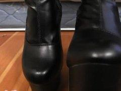 Boot fetish pov femdom!