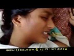Hot Desi Indian teen hairy pussy fucked hard