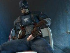 Captain America Bust A Nut