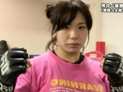 Cute Japanese FBB rin on tvshow