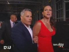 Stephanie McMahon arrested handcuffed