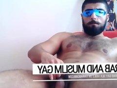 Aliz in Fuckerland: Arab gay Gorgeous Jordanian stud offering his hard dick
