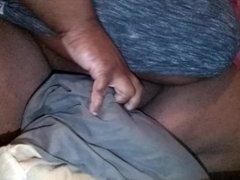 Fat Guy Fucks Pillow