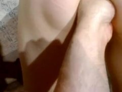 wife fisted by her husband back of view
