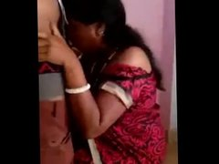 Tamil Aunty Cheating with College Boy