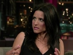 Julia Louis-Dreyfus - The Late Show with David Letterman (2008-01-24)
