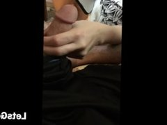 Girlfriend Teases My Cock on the Couch