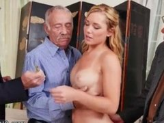 Sara old man dirty talk and watching girl lover frannkie