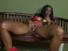 Young Black Teen Rides Her Step Dads Huge Black Cock