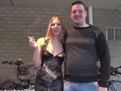 Dutch Couple Smoking Fetish (Non Nude)