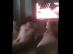 Cumming while watching Brea Banner get fucked
