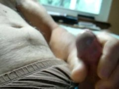 "Cum Shot ""Watching A Video on PH"