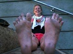 Stinky Dirty Feet