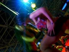Festival Erotico - Barcelona 2010 - Penelope Tiger & Alicia Dark