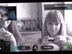 Reacciones de nenas al ver mi polla en la web cam 5.Corrida al final