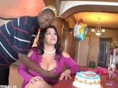 BBW Big Tit Latino revenge fuck (Angelina Castro)