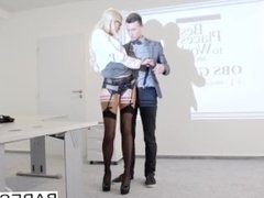 Babes - Office Obsession - Your Attention, Please starring Karol Lilien