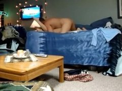 hot girl awesome fuck with BF at home