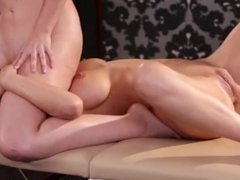 Blonde Squirting Daughter and Mother