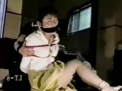 Tied up and gagged Japanese