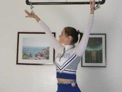 [conpi] cheerleader tied tickling