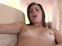 EXTRA TIGHT HORNY TEEN SUCK AND FUCKS BIG COCK