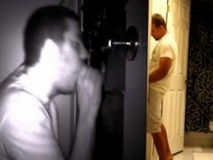 STRAIGHT GUY TRICKED INTO GAY GLORY HOLE