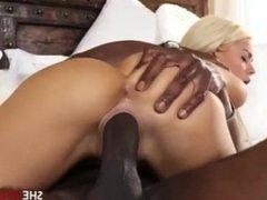 Elsa Jean - Blonde Slut Takes BBC