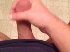 POV stroke and cum