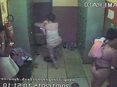 CCTV Footage Of Brazilian Whore House Locker Room