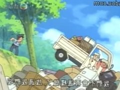 japanese tickling anime Doraemon (M/M)