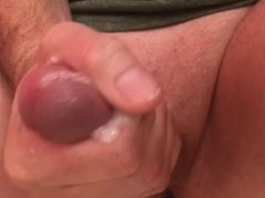 Teen Solo Male Masturbating, Jacking Off Cock with Lots of Cum