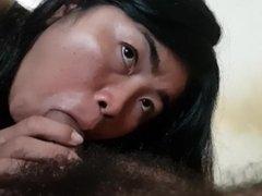 Blow job khmer sex