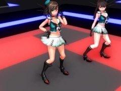 3D MMD Killer Lady REMIX - Maya & Chokai