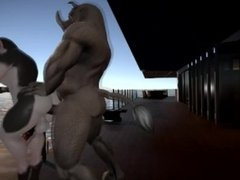 COW-BOY  Yiffalicious Animated Video
