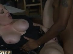 Interracial milf blowjob and