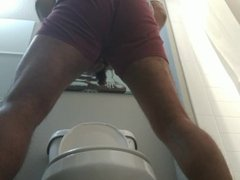 my very long piss from behind
