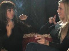Danielle Sheehan & Danielle Maye - Smoking Interview
