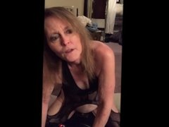 THE WIFE'S FIRST RIDE ON A SYBIAN