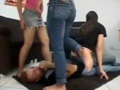 intense squishing trample