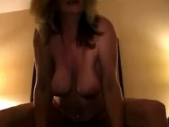 hubby surprises his horny mature wife