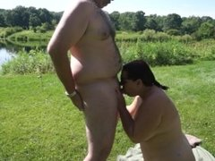 Blowjob By The Lake