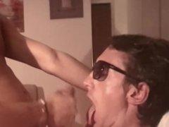 Max take fantastic cum shot from hot black guy