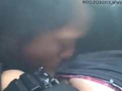 Pinay girlfriend sucks him dry in the car, find her @ AsianAmateurs(dot)fun