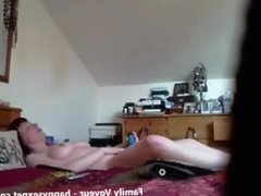 Masturbation of my gorgeous mom caught by hidden cam