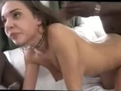 White slut used by a group of bbc