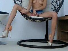 Sexy legs and masturbate webcam