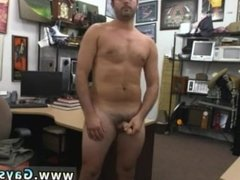 Busted straight guy getting dick sucked