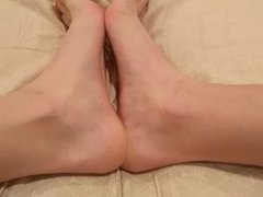 Dirty Feet in Bed